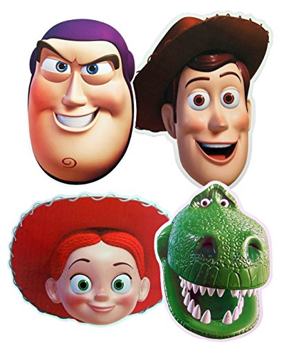 Great Value Multipacks Toy Story - MULTIPACK - Card Face Masks -
