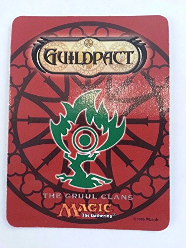 MTG Magic the Gathering Guildpact THE GRUUL CLANS Fridge Magnet PROMO 2005 (Clan Magnets)