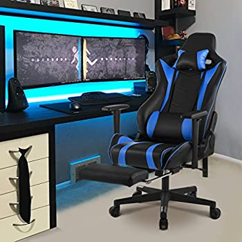 Comfortable Office Chair With Footrest