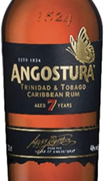 Angostura 7 Años de Edad Viejo Nuevo Diseño Oscuro Ron - 700 ml