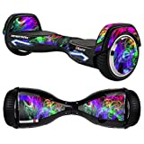 MightySkins Protective Vinyl Skin Decal for Razor Hovertrax 2.0 Hover Board Self-Balancing Smart Scooter wrap cover sticker skins Neon Splatter