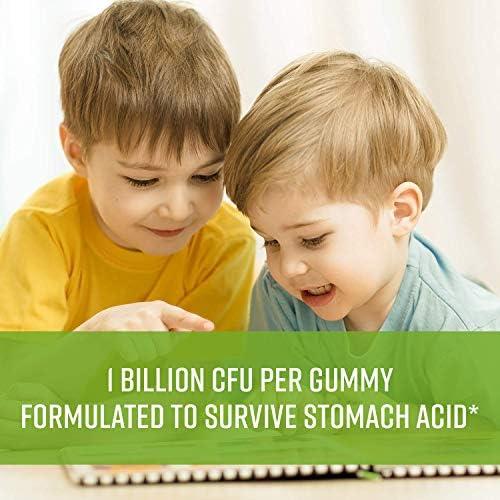 518WSyHBR3L. AC - MAV Nutrition Probiotics For Kids Vitamins - Flora Health Support Gummies With 2 Billion Live Probiotic Cultures Fiber Supplement; Natural Flavor; 60 Gummies