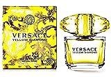 Yellow Diamond Perfume For Women By Versace Eau De Toilette Spray 3 oz. 90 ml. Free! Lempicka 0.17 oz Mini EDP