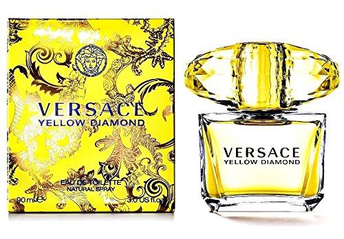 Versace Yellow Diamond Eau De Toilette for Women 90ml - 3