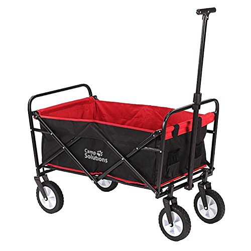 Camp Solutions Collapsible Folding Outdoor Utility - Camp Wagon