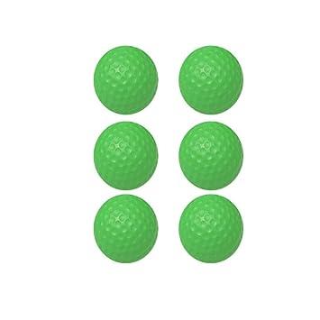 KUQIQI Pelota de práctica de Golf en Interiores, Pelota de ...