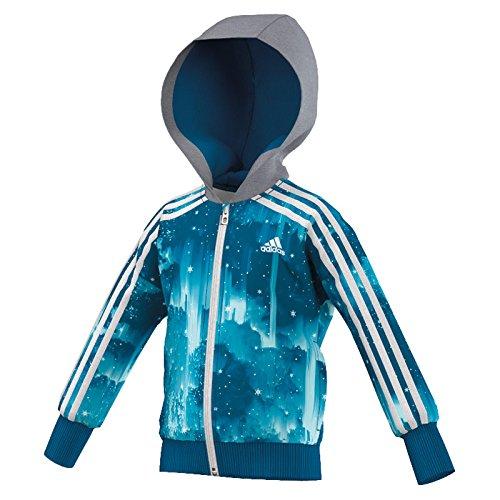 Adidas LK DYQ Elsa Full Zip Hoodie by adidas