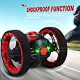 GBlife 2.4GHz Wireless Remote Control Jumping RC Toy Cars for Kids No WIFI (Black)