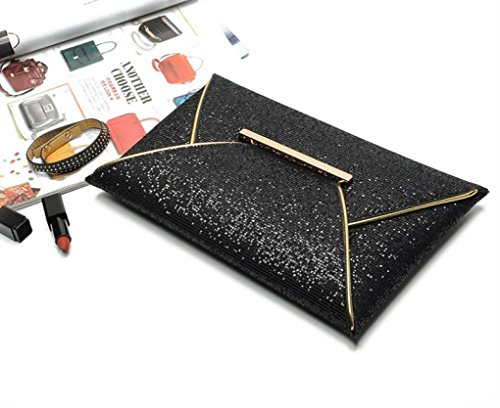 Vovotrade® Donna Paillettes sacchetto della busta del partito di sera della borsa della frizione della borsa