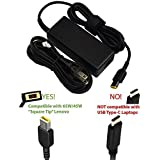 AC Charger for Lenovo ThinkPad T460 T460S T460P 14 Inch Laptop Computer Ultrabook with 5Ft Power Supply Adapter Cord