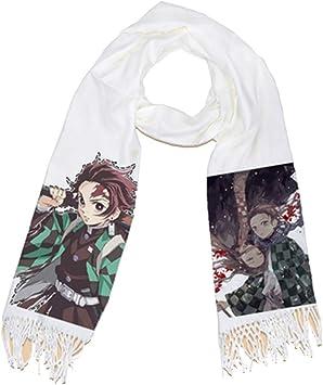 warm M/ädchen My Hero Academia Demon Slayer Winter japanischer Anime-Schal lunanana Schal Infinity-Schal f/ür Jungen Herren und Damen