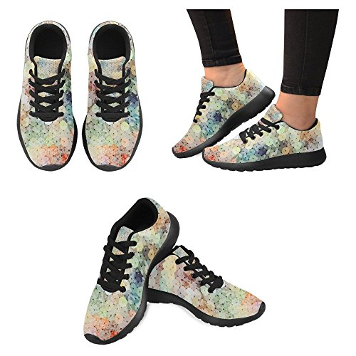 Interestprint Femmes Jogging Running Sneaker Léger Aller Facile À Pied Casual Confort Chaussures De Course Multi 6