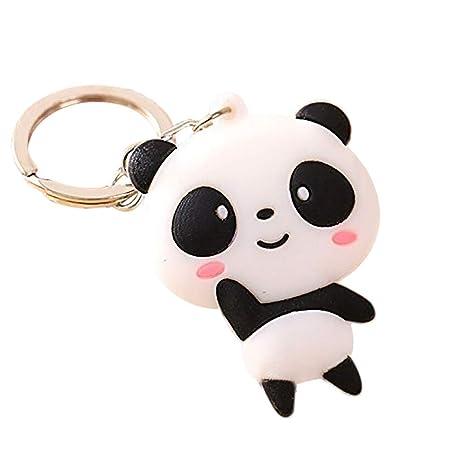 Demarkt Cute Panda Minions clave cadena Charm coche teléfono ...