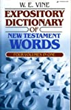 The Expository Dictionary of New Testament Words 9780310337812