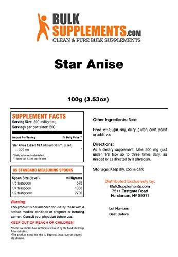 Bulksupplements Star Anise Powder (100 grams) by BulkSupplements (Image #1)