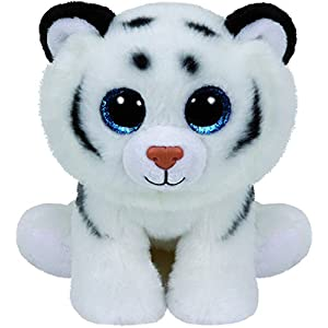 Ty Beanie Babies Tundra - White Tiger - 518WV3BzsnL - Ty Beanie Babies Tundra – White Tiger