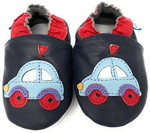 En Souple Minifeet Voiture Bébé Chaussures Cuir qfnFPZ8