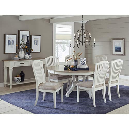 Hillsdale Furniture 7-Pc Round/Oval Dining Table with Side Chairs by Hillsdale Furniture