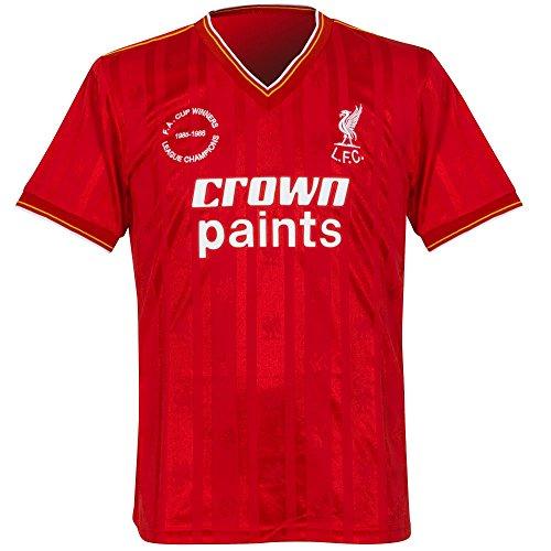 Liverpool Fc Home Shirt - Liverpool FC LFC 1986 Home Shirt Official