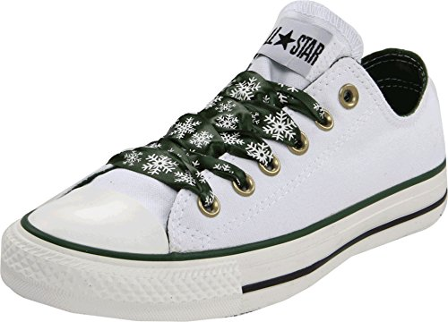 CONVERSE Women's All Star Specialty Ox (White 7.0 M)]()