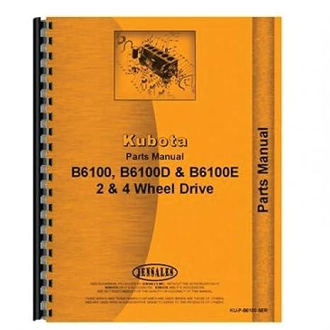 518WWL0UaJL._SX466_ amazon com operator's manual ku o b6100 kubota b6100 b7100
