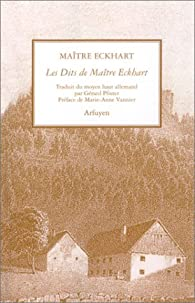 Les Dits de Maître Eckhart par Maître Eckhart