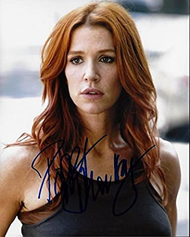 Poppy Montgomery Signed Autographed Unforgettable 8x10 Inch Photo