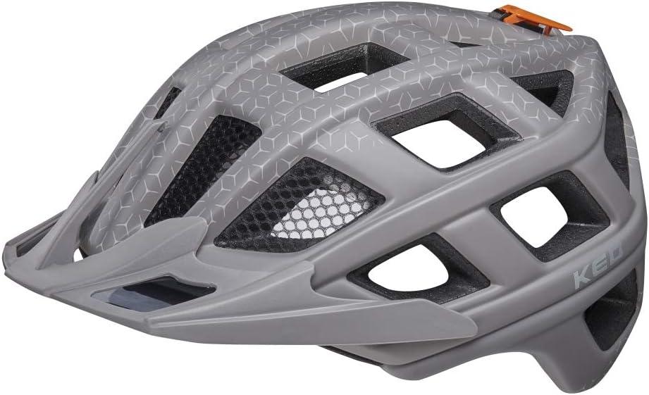 KED Crom Casco de bicicleta MTB BMX adultos j/óvenes Incluye cinta de seguridad RennMaxe