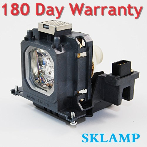 610-336-5404 Replacement Lamp Bulb with Housing for Sanyo PLV-Z2000,PLV-1080HD Projectors POA-LMP114 Sklamp POA-LMP135