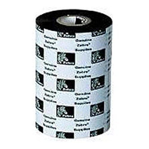 Zebra Technologies 05555BK110D-EA 5555 Wax/Resin Ribbon, 4.33