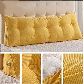 Rückenlehne Kissen.Große Dreieckigen Kissen Bett Rückenlehne Kissen Kissen