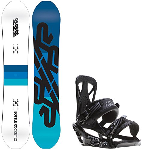 152 cm mens snowboard package - 3