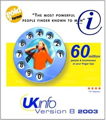 UK Info Disk Standard 8 0: Amazon co uk: Software