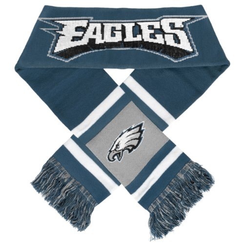 Team Stripe Scarf (NFL Philadelphia Eagles 2012 Team Stripe Scarf)