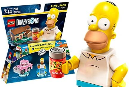 Warner Bros. Interactive Spain (VG) Lego Dimensions - The Simpsons, Homer: Amazon.es: Videojuegos