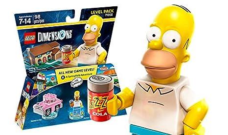 Simpson Dimensions' 'lego Homer Figurine LesPack CoxdeB