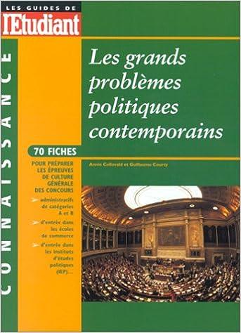 Lire en ligne Les grands problèmes politiques contemporains pdf