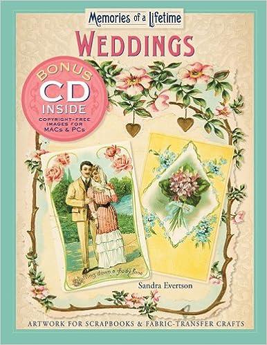 Memories of a Lifetime Artwork for Scrapbooks /& Fabric-Transfer Crafts Florals /& Nature