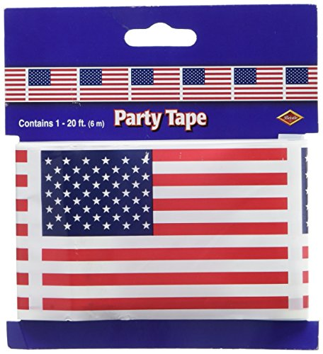 (American Flag Party Tape Party Accessory (1 count) (1/Pkg) )