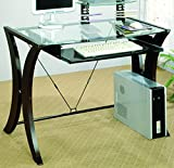 Best Coaster L Desks - Coaster 800445 Division Table Desk with Glass Top Review