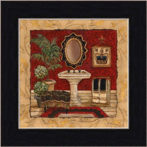 New Bathroom Art (New Orleans Spa Luxe IV by Charlene Olson Chic Bathroom Decor Framed Art Print Picture Wall Decor)