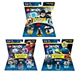 Mission Impossible Ethan Hunt Level Pack + Back To The Future Marty McFly Level Pack + Doctor Who Level Pack - Lego Dimensions (Non Machine Specific)