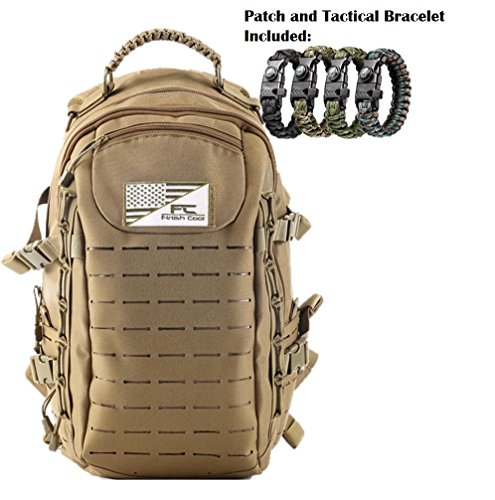 Military Tactical Travel Urban Assault Backpack for tactical travel urban assault backpack for hiking (tan) (Backpack Assault Urban)