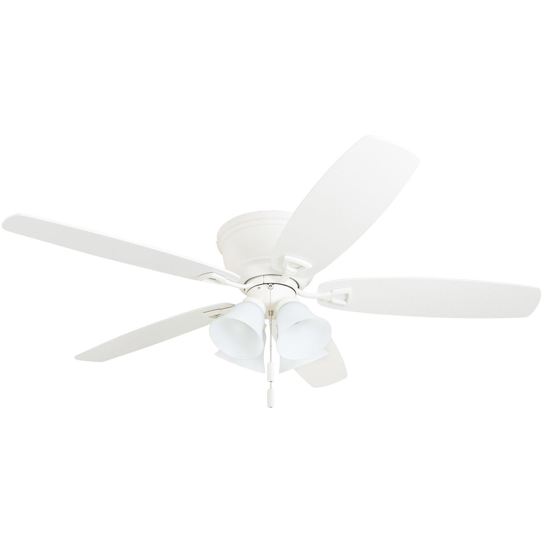 "Honeywell Ceiling Fans 50518-01 Glen Alden Ceiling Fan, 52"", White"