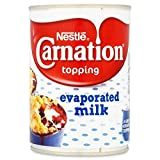 Nestlé Carnation Topping Evaporated Milk 410g - Pack of 6