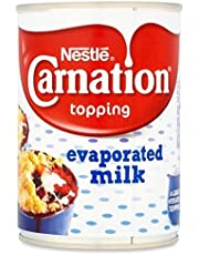 Nestlé Carnation Topping Evaporated Milk 410g - Pack of 2