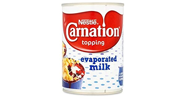 Carnation Nestlé Relleno 410g De Leche Evaporada (Paquete de 6): Amazon.es: Alimentación y bebidas