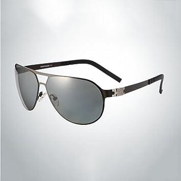 HONEY Titanio Elástico Ultraligero Gafas De Sol Gafas Polarizadas Para Hombres Dedicado Conducción De La Lente