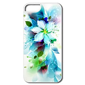 Ideal Abstract Flower Plastic Case For IPhone 5/5s wangjiang maoyi