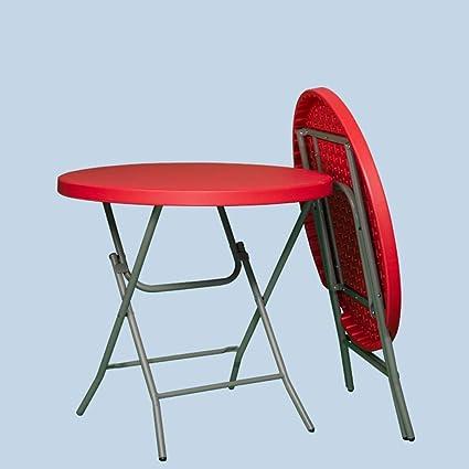 LYLLYL Ménage pliant petite table ronde/jardin, table ...